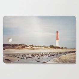 Barnegat Lighthouse Long Beach Island New Jersey Shore, Old Barney Light house LBI Cutting Board