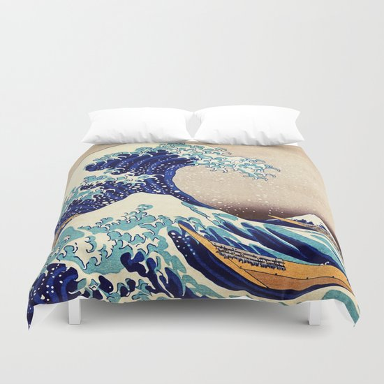 The Great Wave Off Kanagawa by artgallery