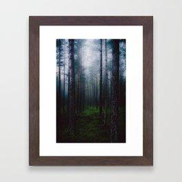 I will make you sleep Framed Art Print