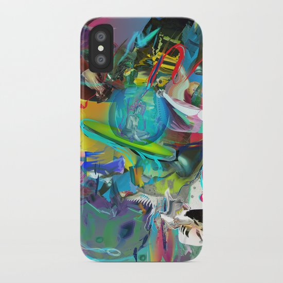 Microcrystalline Tendrils iPhone Case