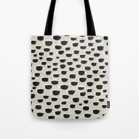 charmaine Tote Bags featuring Evil Eyes by eye in the sky