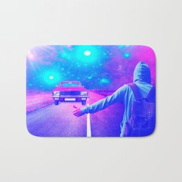 Ghost Car by GEN Z Bath Mat