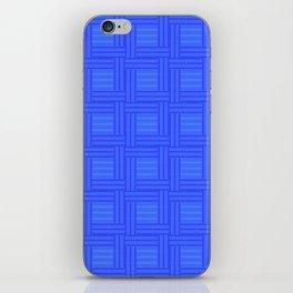 Elour Blue Tile iPhone Skin