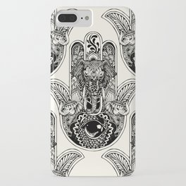 Hamsa Hand Elephant iPhone Case