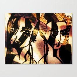 Wilda and Marion Canvas Print