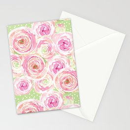 Blush Pink Bouquet Stationery Cards