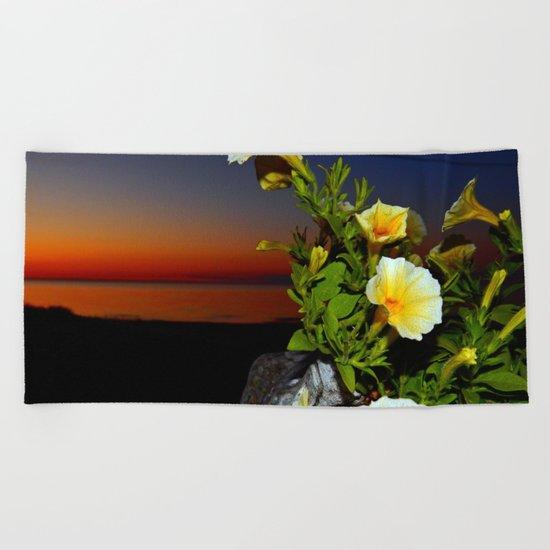 Evening Rhapsody Beach Towel
