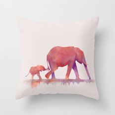 Colors to Life Throw Pillow