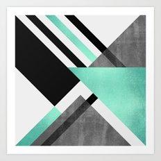 Foldings Art Print