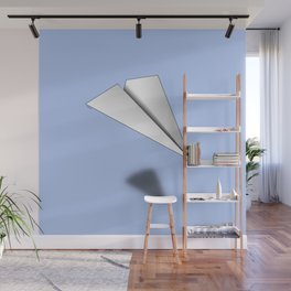 Paper Airplane 12 Wall Mural