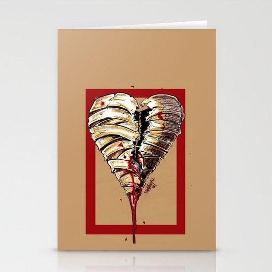 Razor Blade Romance Stationery Cards