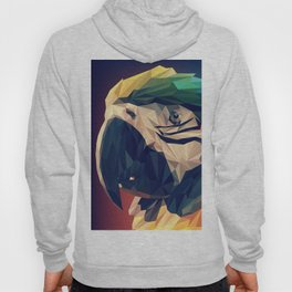 Parrot Head Illustration (Vector) Hoody