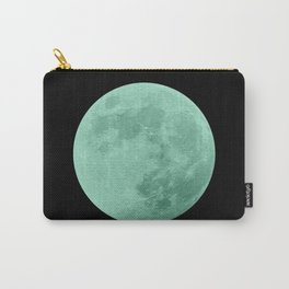 TEAL MOON // BLACK SKY Carry-All Pouch