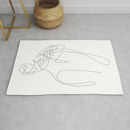 Girls Touch Rug