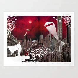 Gotham City Art Print