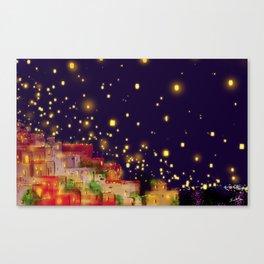 Lights of Hope... Canvas Print