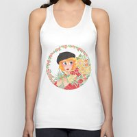 enjolras Tank Tops featuring Flowers by foxflowers