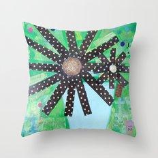 A lotta polka dots! Throw Pillow