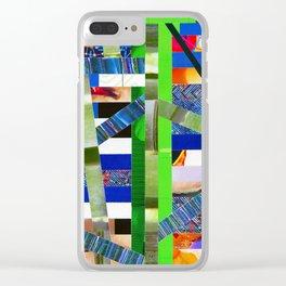 Agnes (stripes 16) Clear iPhone Case