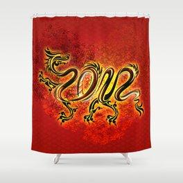 Drachen Shower Curtain