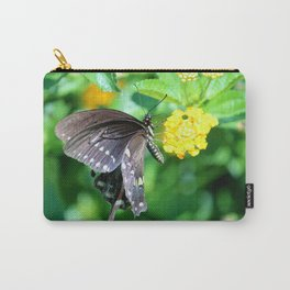 Butterfly Side View Carry-All Pouch
