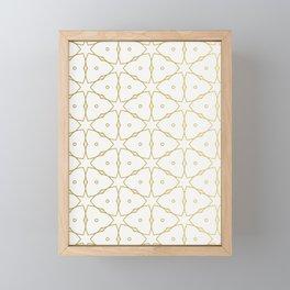 arabic art Framed Mini Art Print