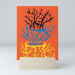 matisse coral Mini Art Print