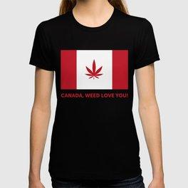 Canada legalization T-shirt