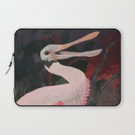 Laughing spoonbill Laptop Sleeve