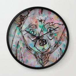 Sketchy Bear Wall Clock