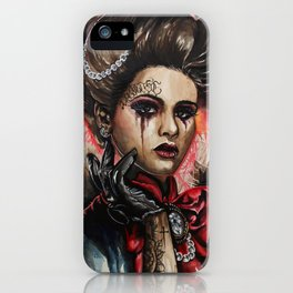 Inked Girl #1 iPhone Case