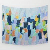 marine Wall Tapestries featuring Marine Arietta by Ann Marie Coolick