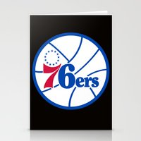 nba Stationery Cards featuring NBA - 76ers by Katieb1013