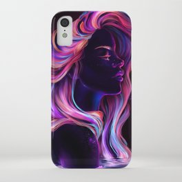 Blacklight Babe iPhone Case