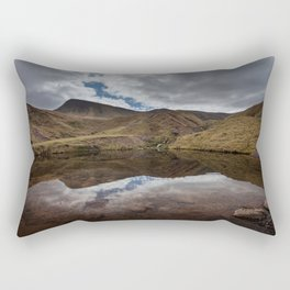 Llyn y Fan Fach Reflection Rectangular Pillow