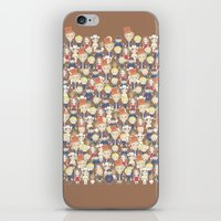 willy wonka iPhone & iPod Skins featuring Willy Wonka Pattern by Ricky Kwong