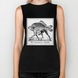 If fishes had legs Biker Tank