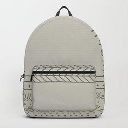 Simple Aztec Design Backpack