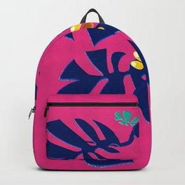 Weaving Monstera Backpack
