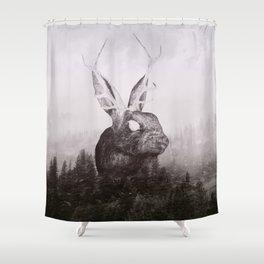 the escape Shower Curtain