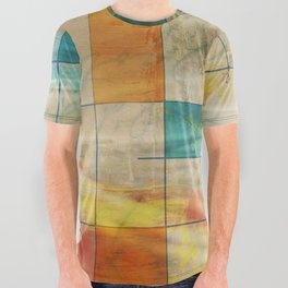 MidMod Art 5.0 Mirror Graffiti All Over Graphic Tee