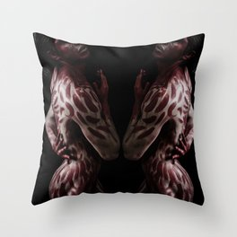 Sangre Throw Pillow