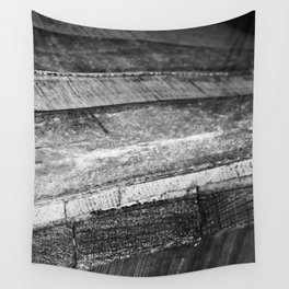 Barrels In Black & White Wall Tapestry