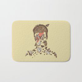 FACES OF GLAM ROCK Bath Mat