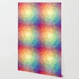 LOWPOLY RAINBOW Wallpaper