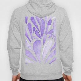 Watercolor artistic drops - lilac Hoody