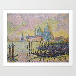 Grand Canal (Venice) - Paul Signac Art Print
