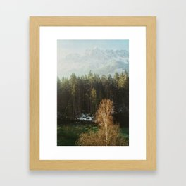 Mountain Nature Framed Art Print