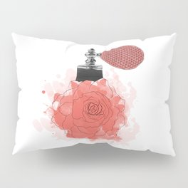 Red Rose Perfume Pillow Sham