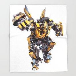Bumblebee Auobot Transformer Throw Blanket